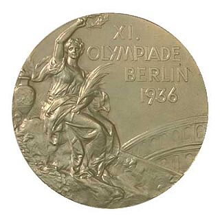 1936 Olympic Games gold medal