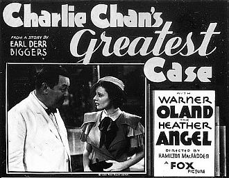 """Charlie Chan's Greatest Case"""